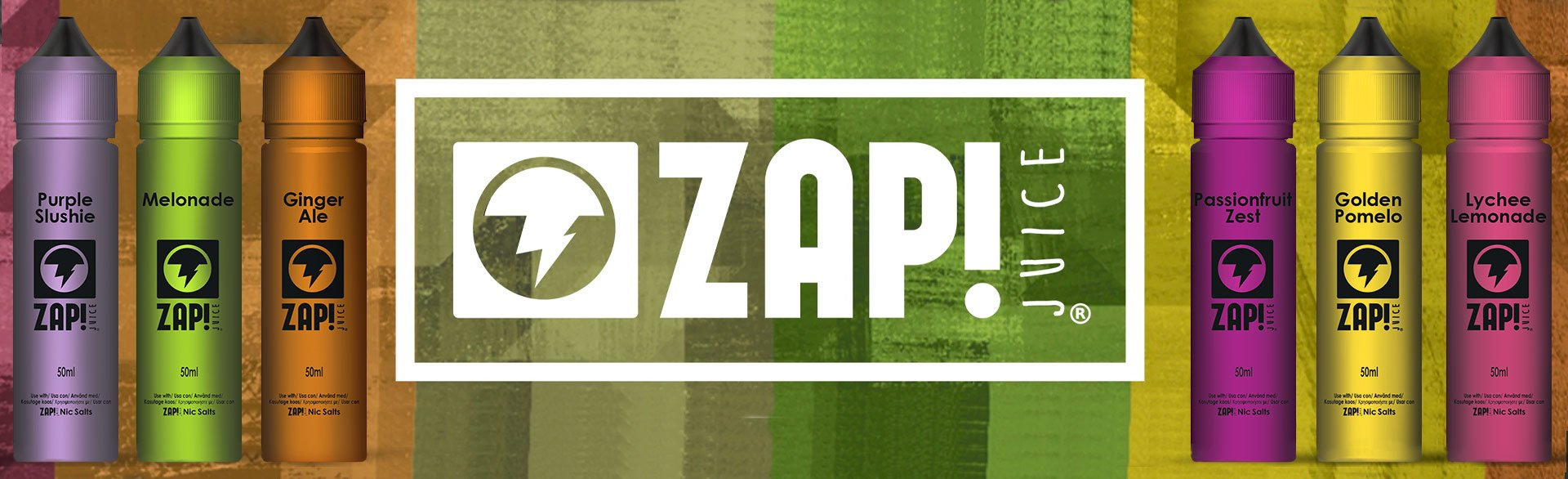 Zap Juice Banner UK