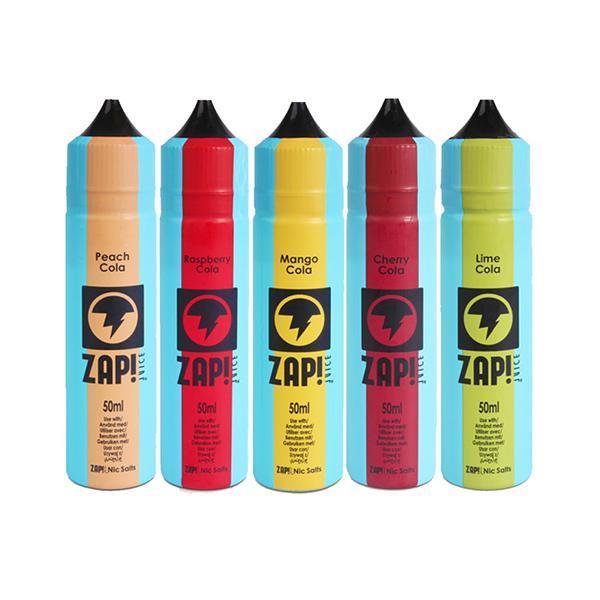 Zap Vape Juice Cola UK