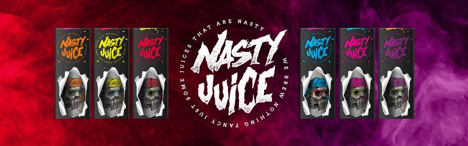 Nasty Juice UK banner