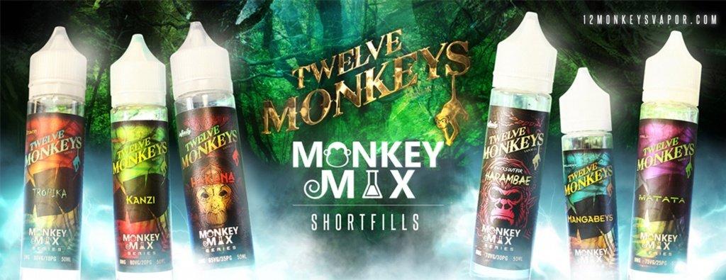 Twelve Monkey Vape Juice UK Banner