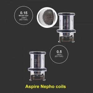 aspire-nepho-mesh-coils