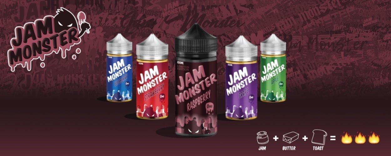 Jam Monster eLiquid Banner UK
