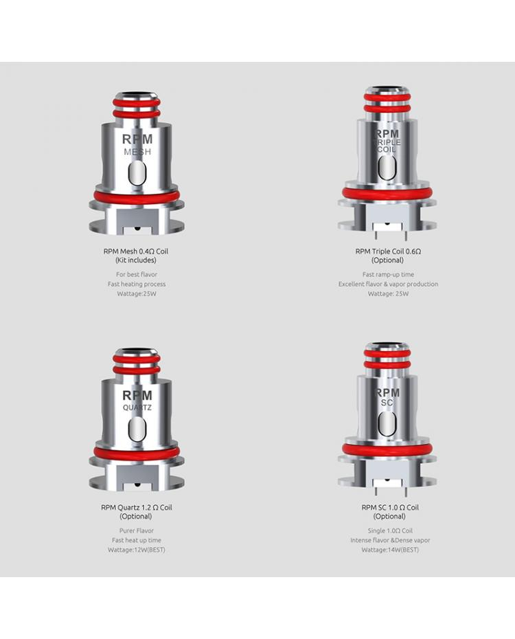 SMOK RPM40 replacement coils UK choices