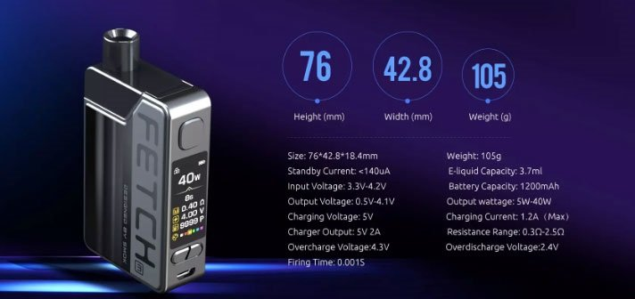 smok-fetch-mini-features-specifications