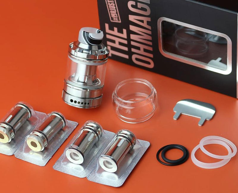 Dovpo Ohmage Sub Ohm Tank UK Contents