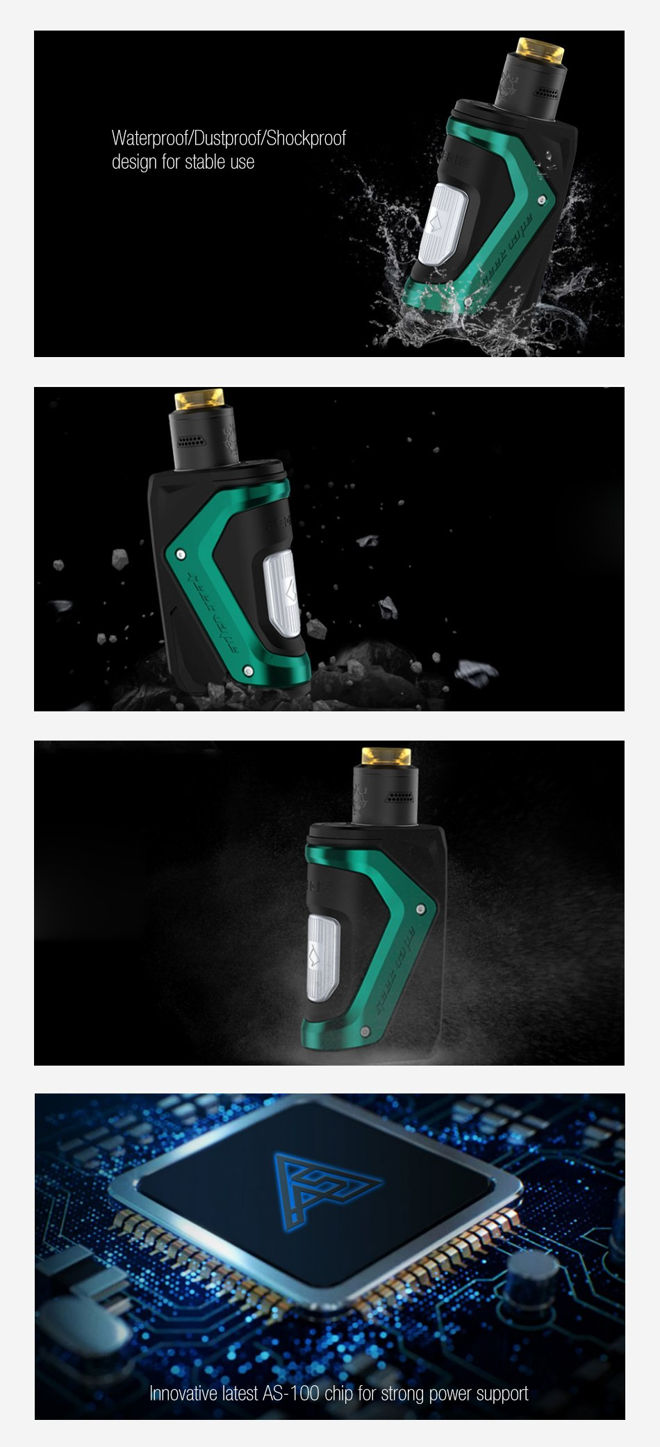 Geekvape Aegis Squonker Kit UK specifications