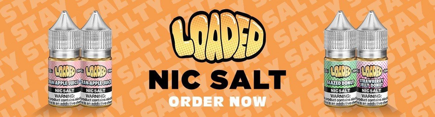 Loaded Nic Salts UK Banner
