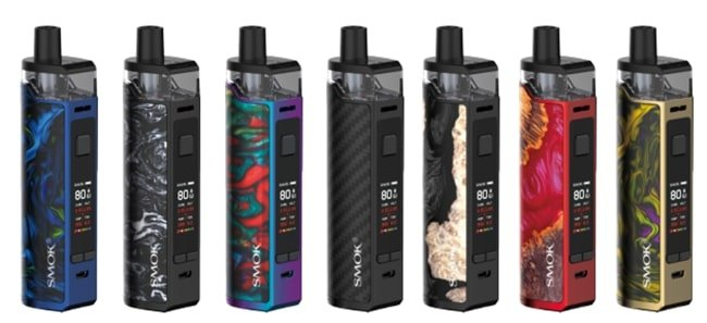 Smok RPM80 Pro Kit Colours UK