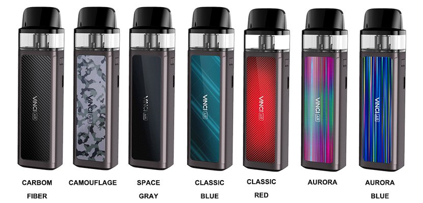 Voopoo Vinci Air Pod UK Colours