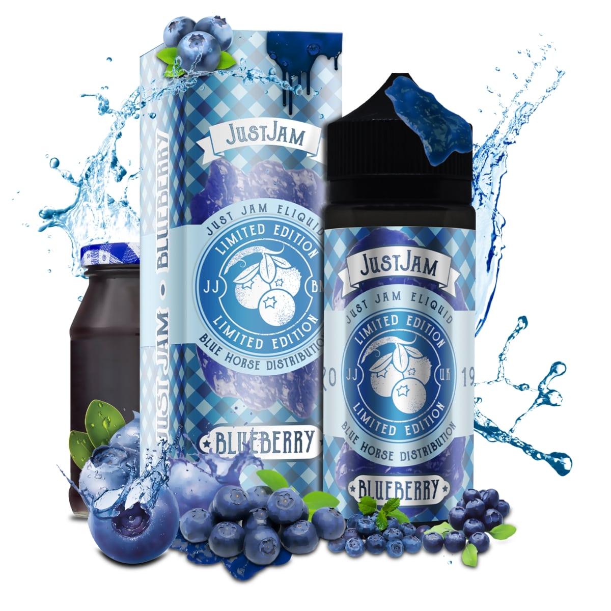 Just Jam Blueberry eliquid UK