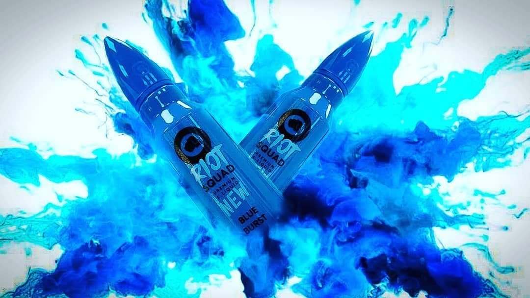 Riot Squad Blue Burst UK Promo