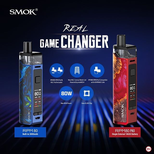 Smok RPM80 UK Promo