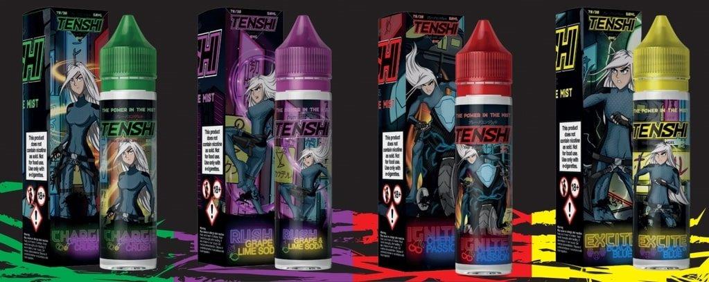 Tenshi Vape Juice Banner UK