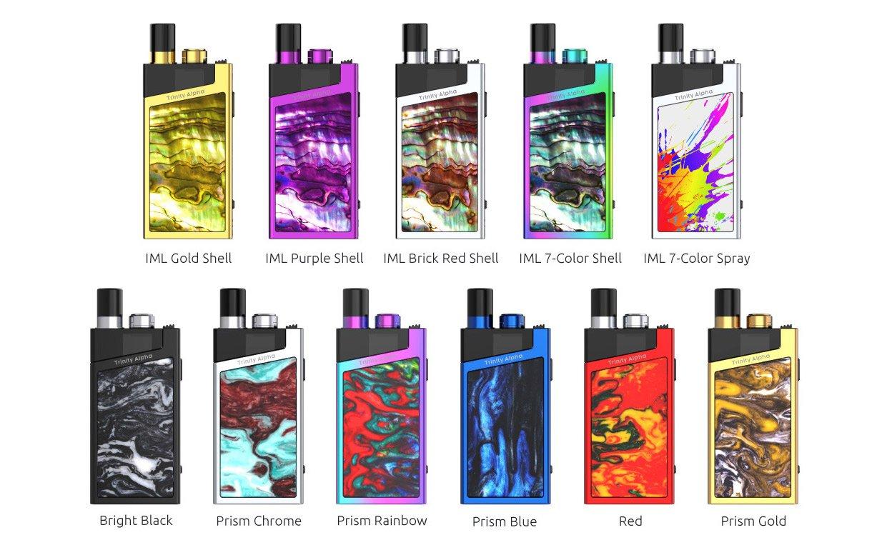 Smok Trinity Alpha Kit UK Promo