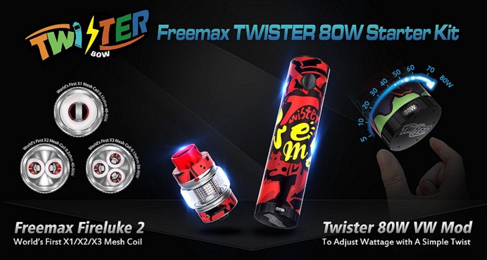 Freemax Twister Kit Promo UK