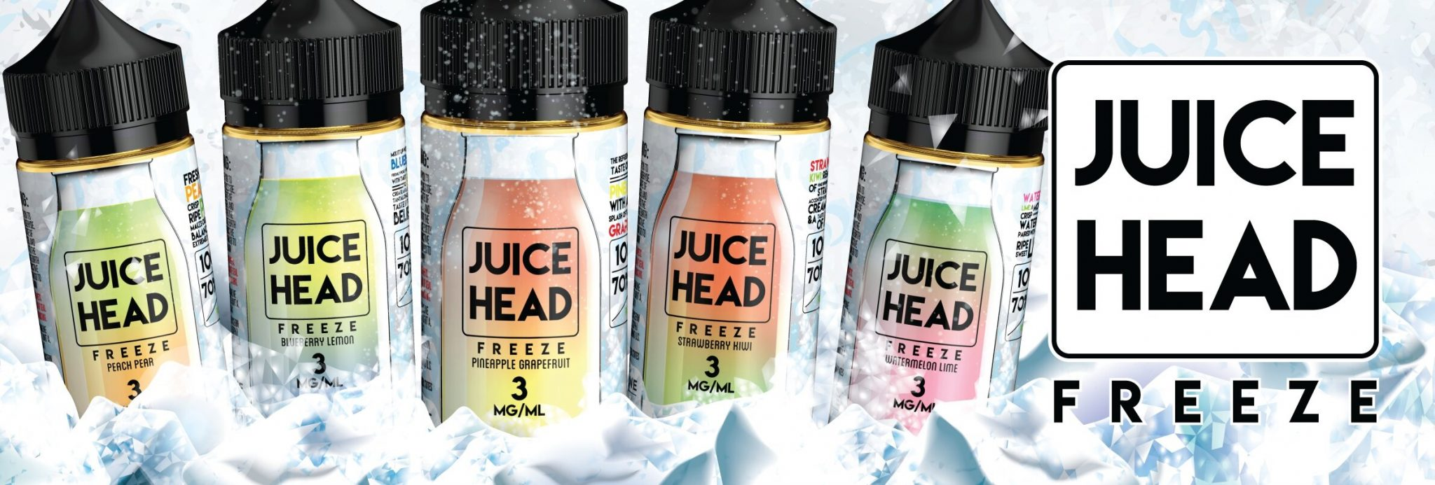 Juice Head Freeze Banner UK
