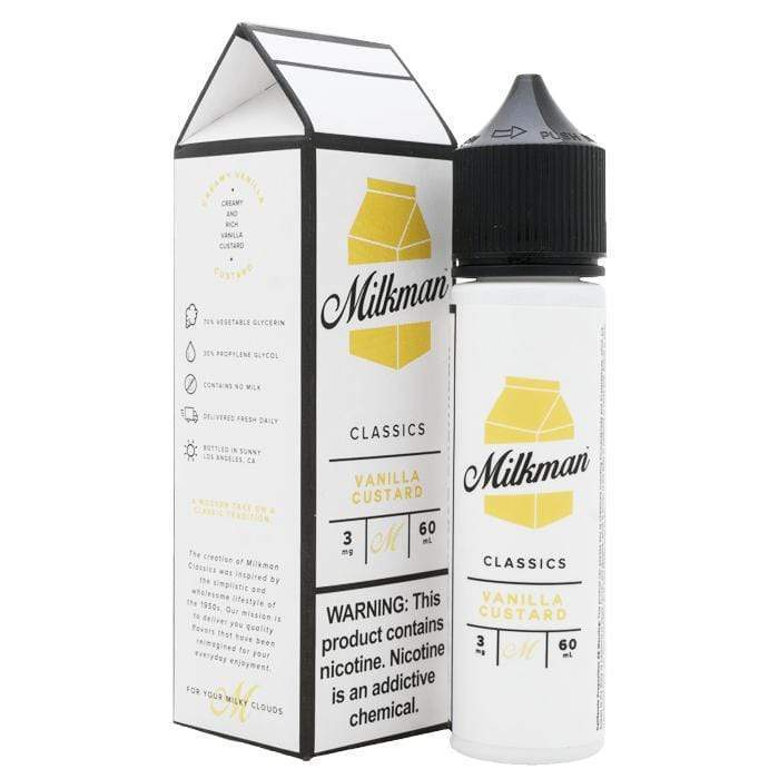 Milkman Vanilla Custard Vape Juice UK
