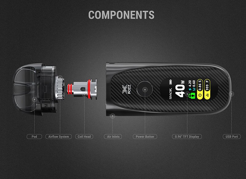 Smok Pozz X Kit Components UK