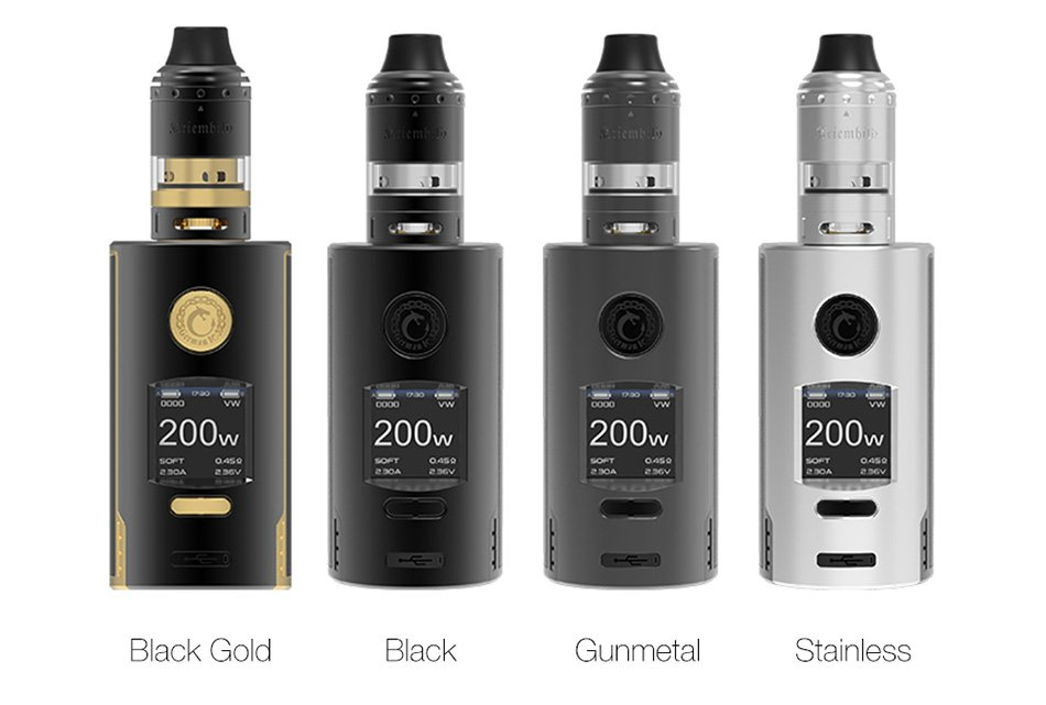Vapefly Kriemhild 200w Kit Colours UK