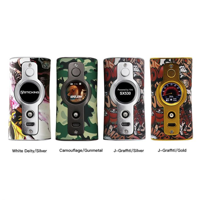 Buy Authentic Vsticking VK530 200W Camouflage 18650 TC VW
