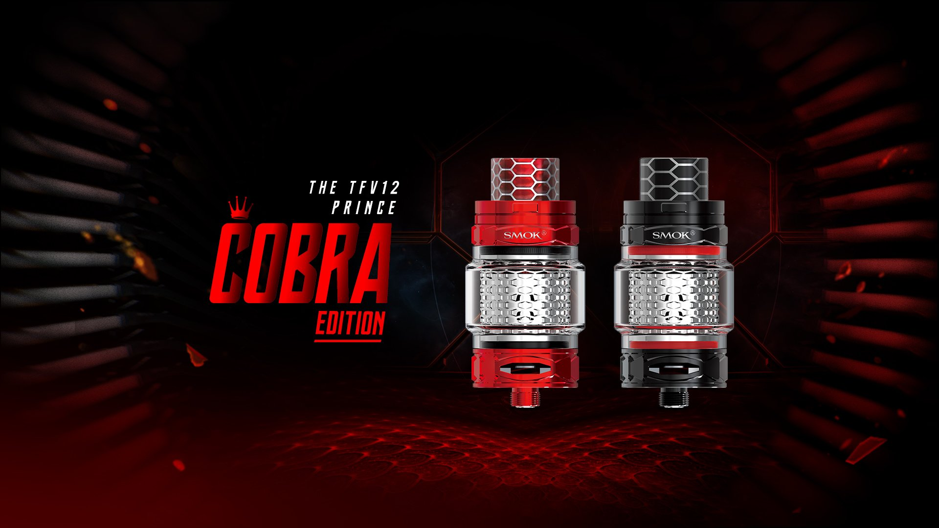 Smok TFV12 Prince Cobra Edition UK Promo