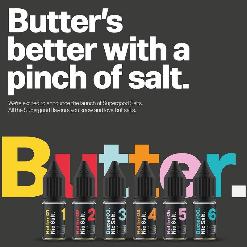 Supergood Butter Nic Salt UK