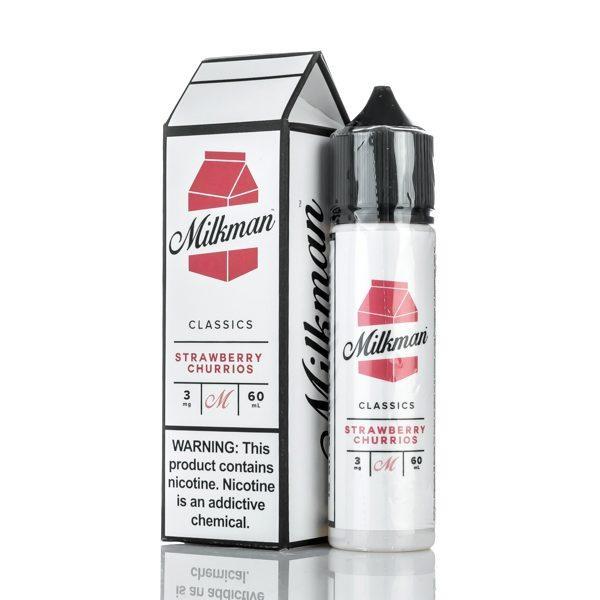 The Milkman Strawberry Churrios eLiquid UK