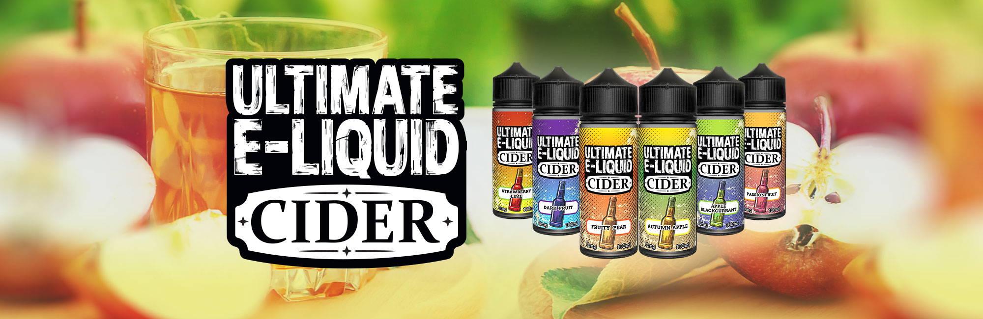 Ultimate eLiquid Cider UK