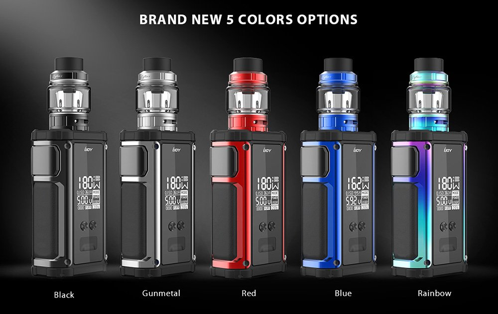 Ijoy Captain 2 Kit Colours UK
