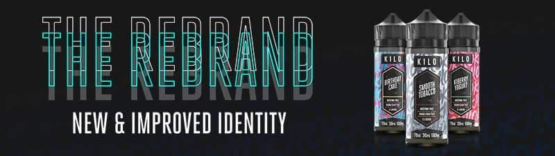 Kilo Rebrand eliquid UK