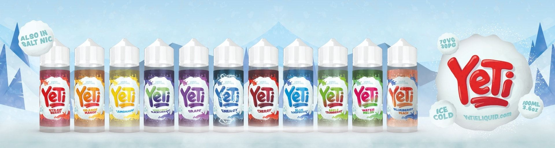 Yeti eLiquid Banner UK