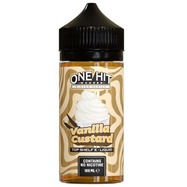 One Hit Wonder Vanilla Custard eLiquid UK