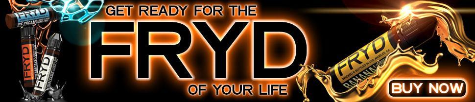 Fryd eLiquid UK Banner