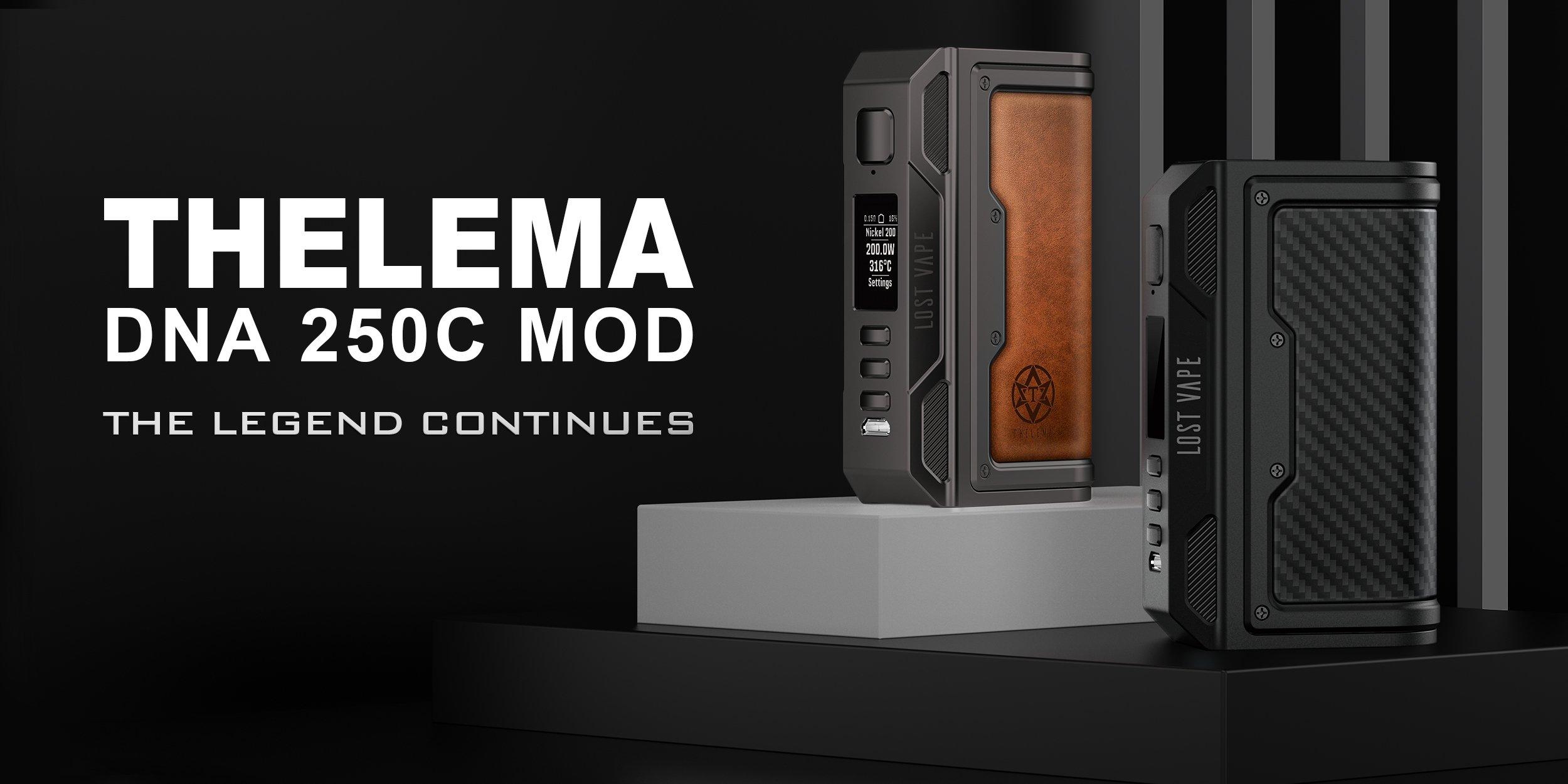 Lost Vape Thelema DNA250 Mod Promo UK