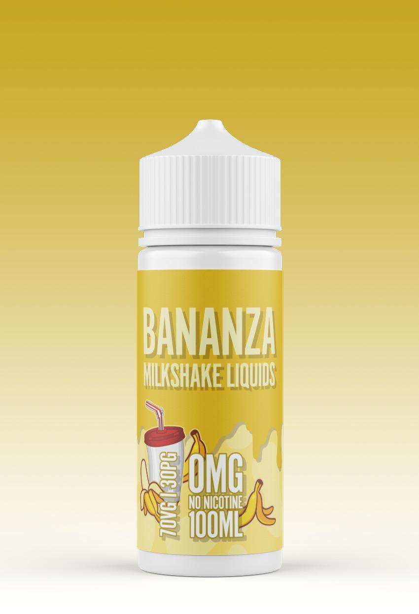 Bananza Milkshake eliquid