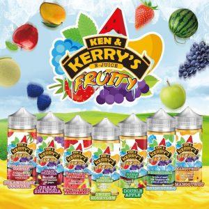 Ken & Kerrys Fruity eLiquid Range