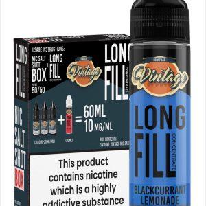 Vintage Long Fill Blackcurrant Lemonade