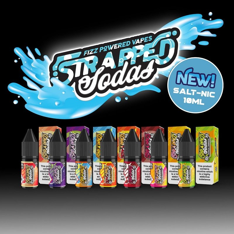 Strapped Nicotine Salts New Range