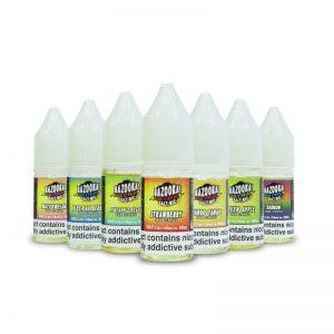 Bazooka Sour Straws Nic Salt UK