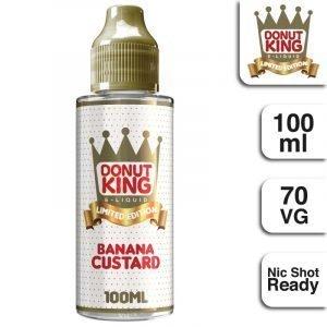 Donut King Banana Custard