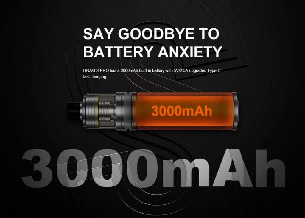 Voopoo Drag S Pro Kit Battery UK