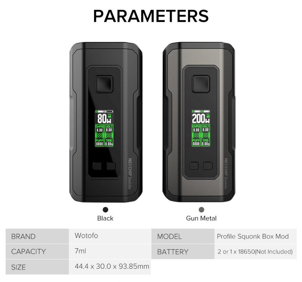 Wotofo-Profile-Squonk-Box-Mod-Parameters