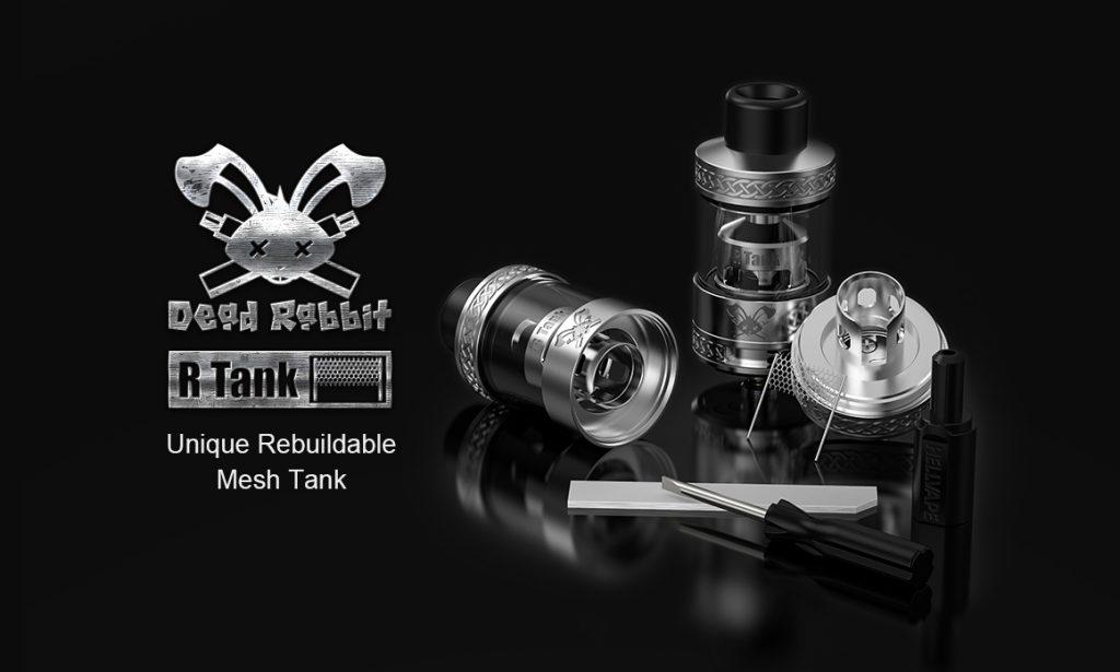 HellVape Dead Rabbit R Tank Promo